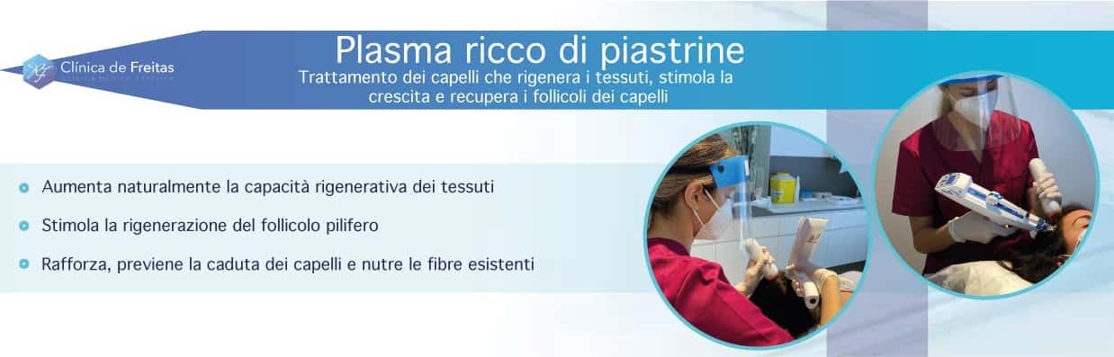 Plasma ricco di piastrine (PRP capelli)